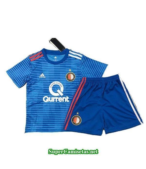 Segunda Equipacion Camiseta Feyenoord Ninos 2018/19