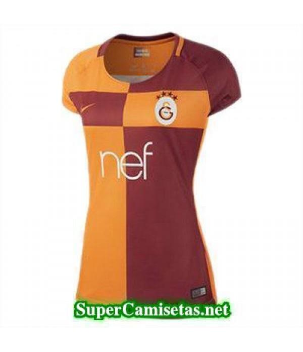 Primera Equipacion Camiseta Galatasaray Mujer 2017/18