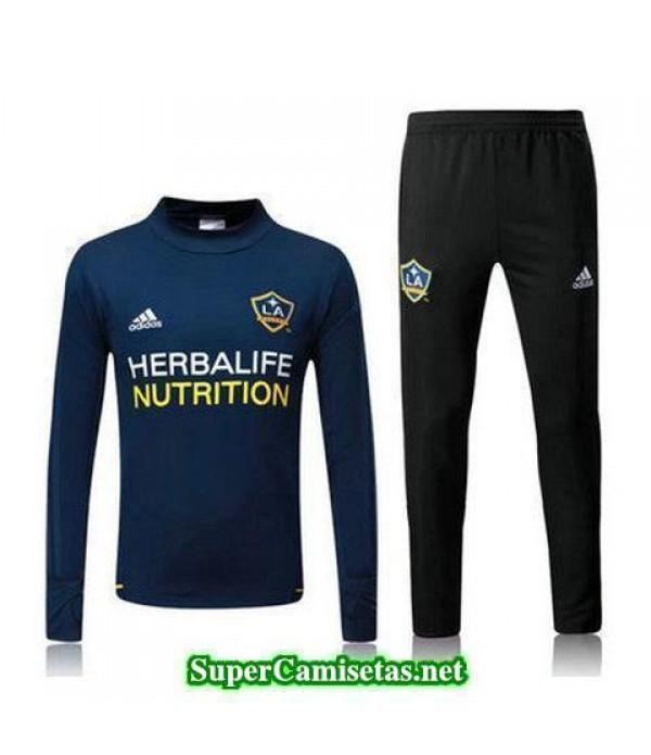 Camiseta entrenamiento LA Galaxy ML azul marino 2017 2018