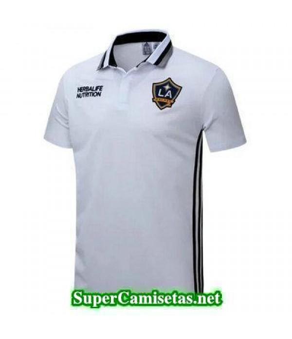 Camiseta polo LA Galaxy blanco 2016 2017