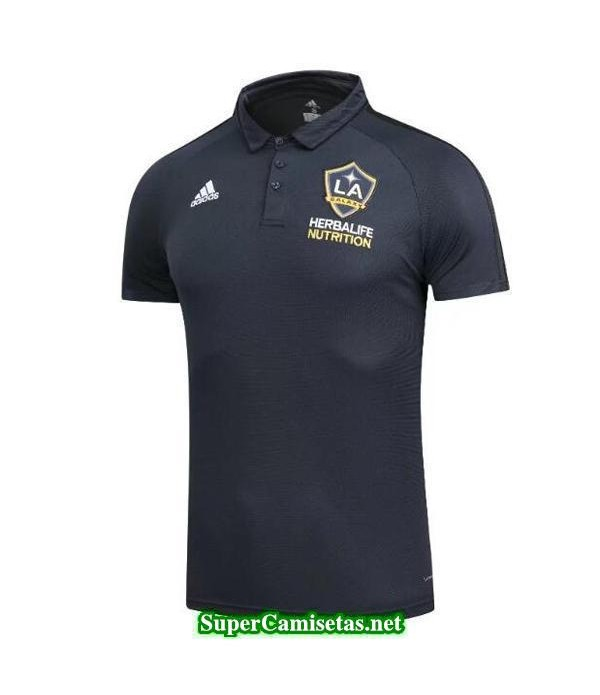 Camiseta polo LA Galaxy Negro 2017 2018
