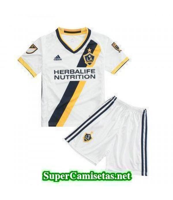 Primera Equipacion Camiseta LA Galaxy Ninos 2016/17
