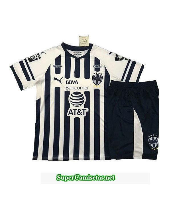Primera Equipacion Camiseta Monterrey Ninos 2018/19