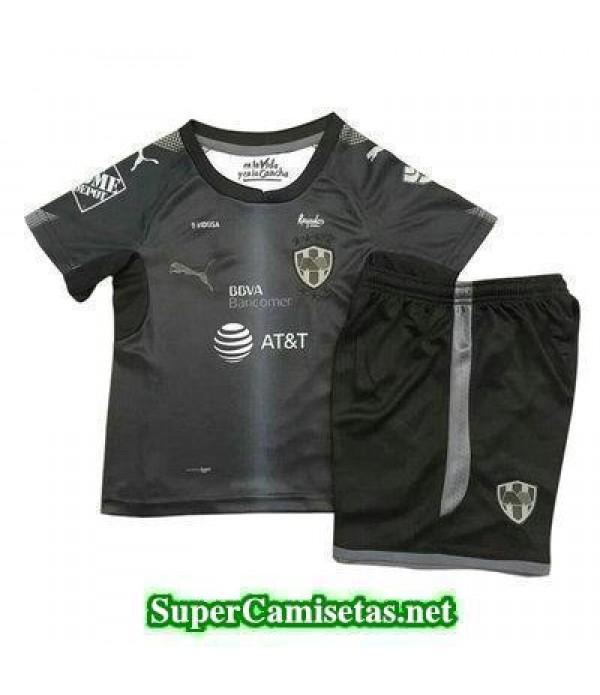 Segunda Equipacion Camiseta Monterrey Ninos 2017/18