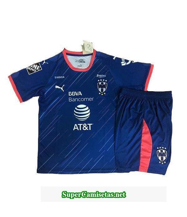 Segunda Equipacion Camiseta Monterrey Ninos 2018/19