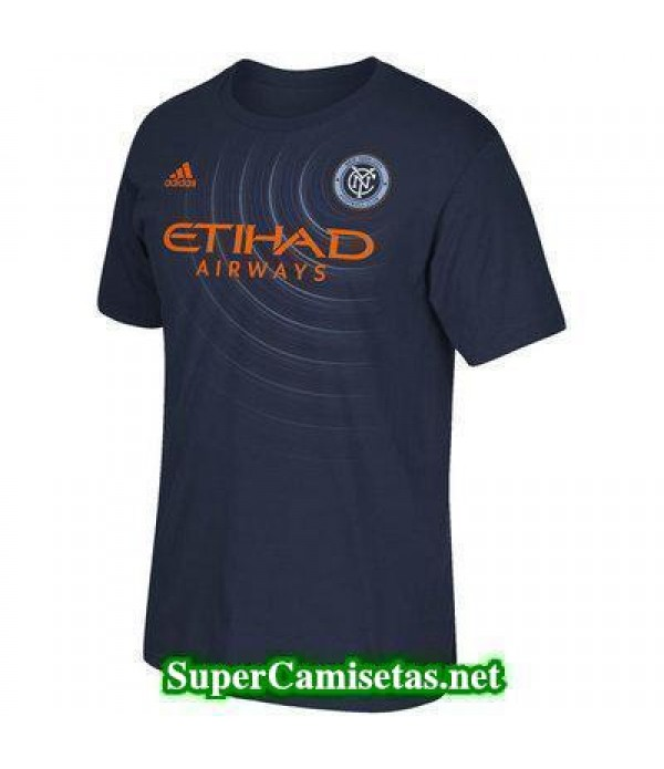 Tailandia Segunda Equipacion Camiseta New York City 2017/18