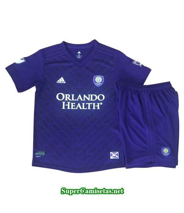 Primera Equipacion Camiseta Orlando City Ninos 2019/20