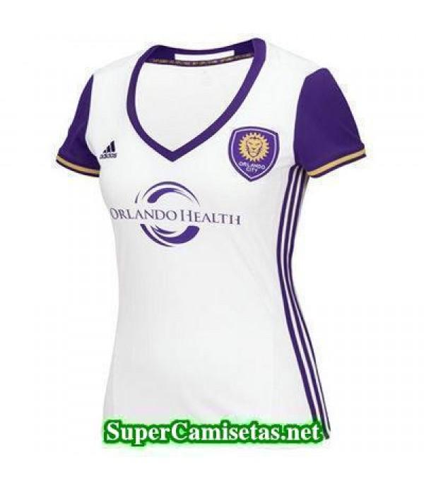 Segunda Equipacion Camiseta Orlando City Mujer 2016/17