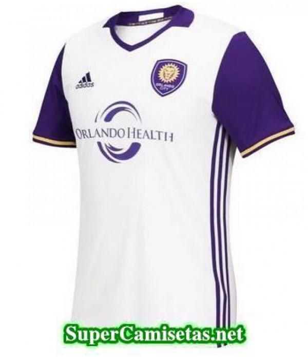 Tailandia Segunda Equipacion Camiseta Orlando City 2016/17