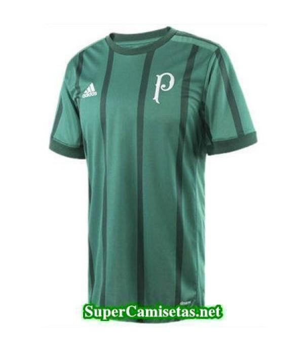 Tailandia Primera Equipacion Camiseta Palmeiras verde 2017/18
