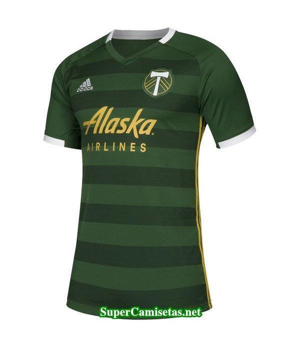Tailandia Primera Equipacion Camiseta Portland Timbers 2019/20