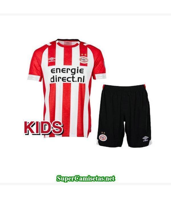 Primera Equipacion Camiseta PSV Eindhoven Ninos 2018/19