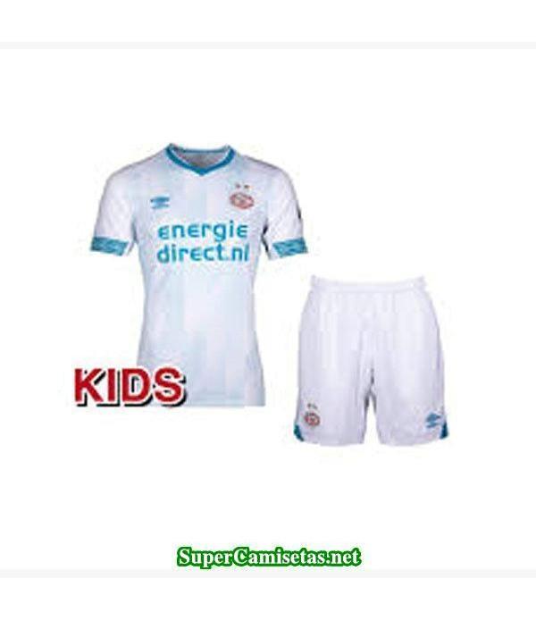 Segunda Equipacion Camiseta PSV Eindhoven Ninos 2018/19