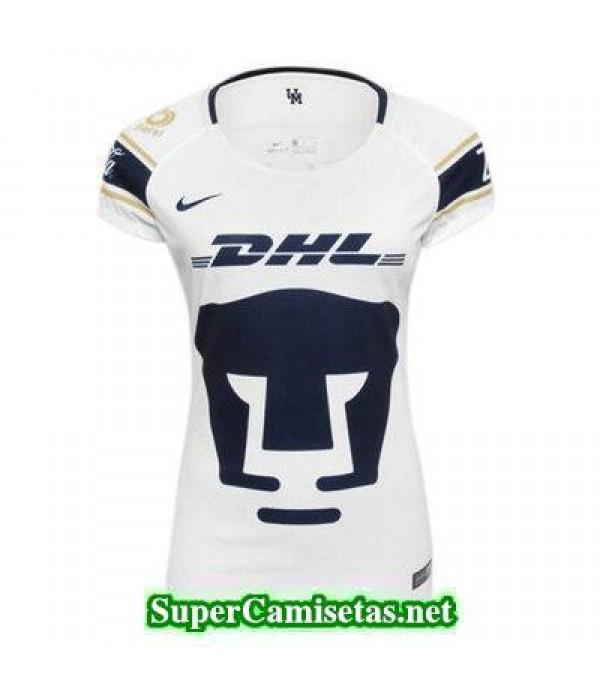 Primera Equipacion Camiseta Pumas Mujer 2017/18