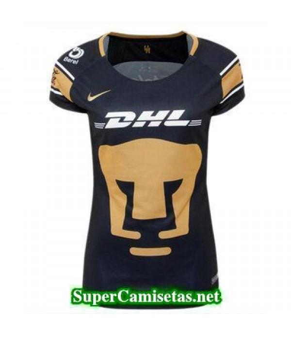 Segunda Equipacion Camiseta Pumas Mujer 2017/18