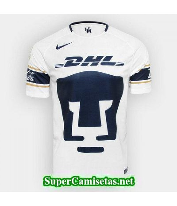 Tailandia Primera Equipacion Camiseta Pumas 2017/18