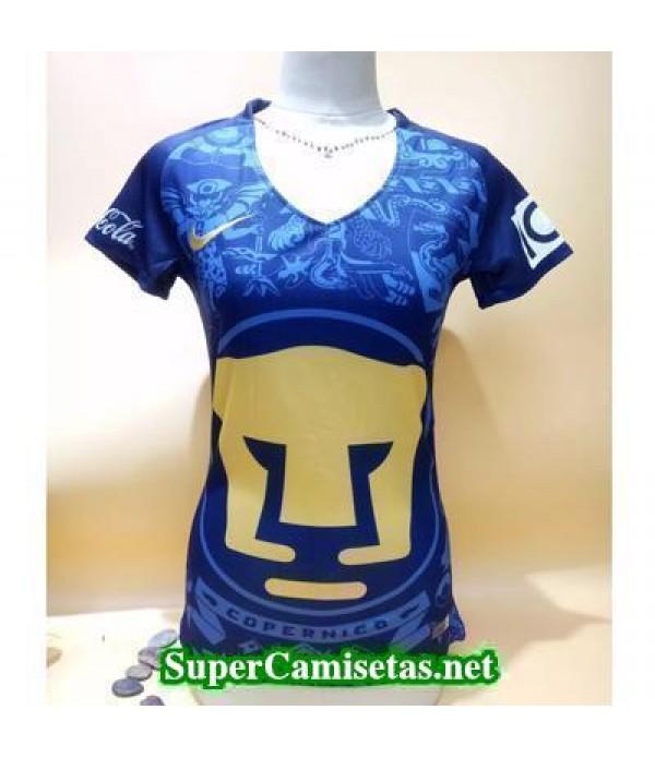 Tercera Equipacion Camiseta Pumas Mujer 2016/17