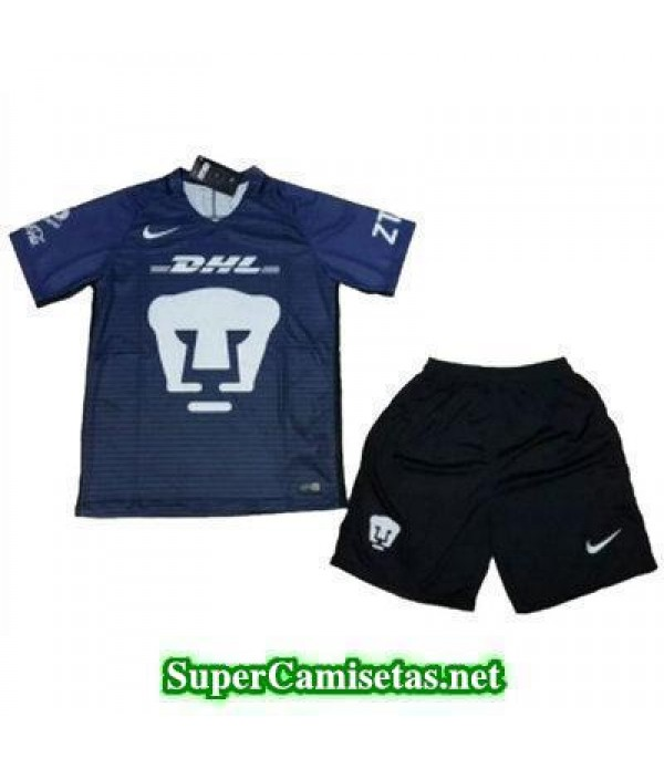 Tercera Equipacion Camiseta Pumas Ninos 2017/18