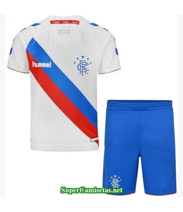 Segunda Equipacion Camiseta Rangers Ninos 2018/19