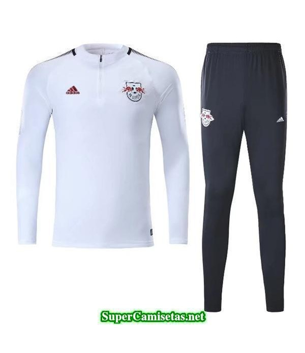Camiseta entrenamiento Red Bulls ML Blanco 2017 2018