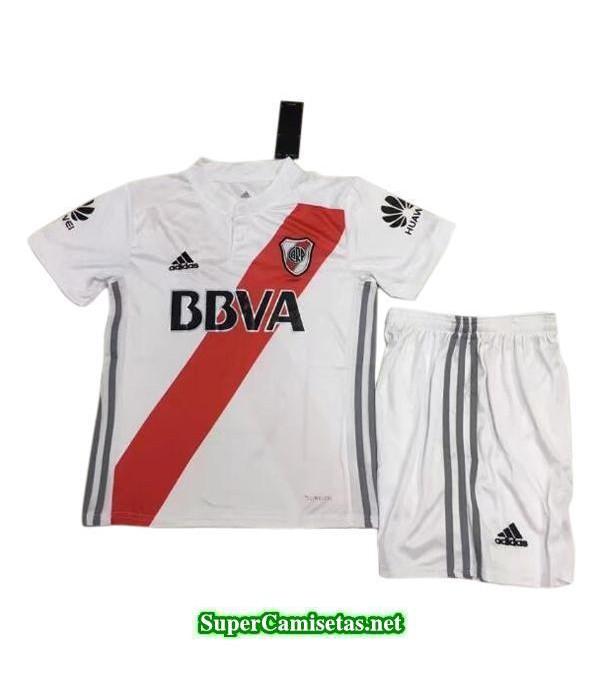 Primera Equipacion Camiseta River Plate Ninos 2017/18