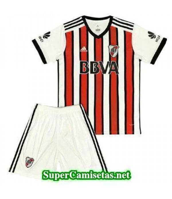 Tercera Equipacion Camiseta River Plate Ninos 2017/18