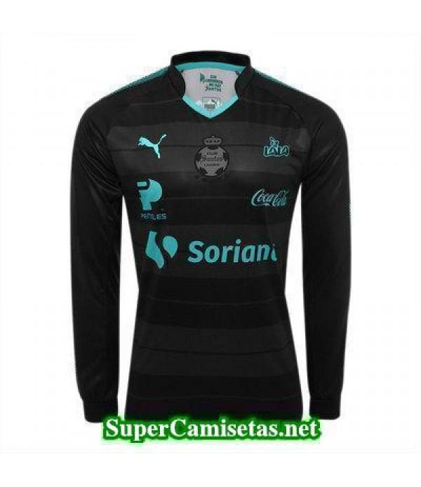 Segunda Equipacion Camiseta Santos Laguna Manga Larga 2017/18