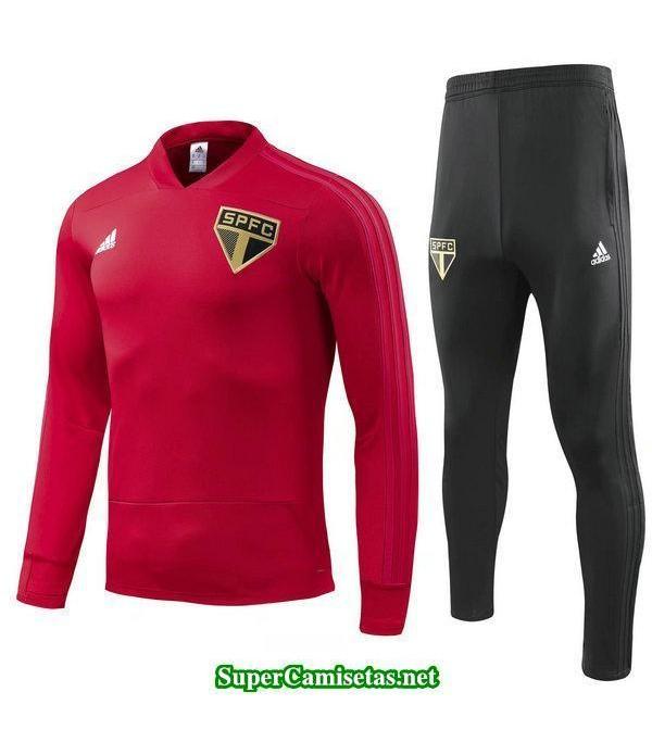 Camiseta entrenamiento Sao Paulo ML Rojo 2018 2019