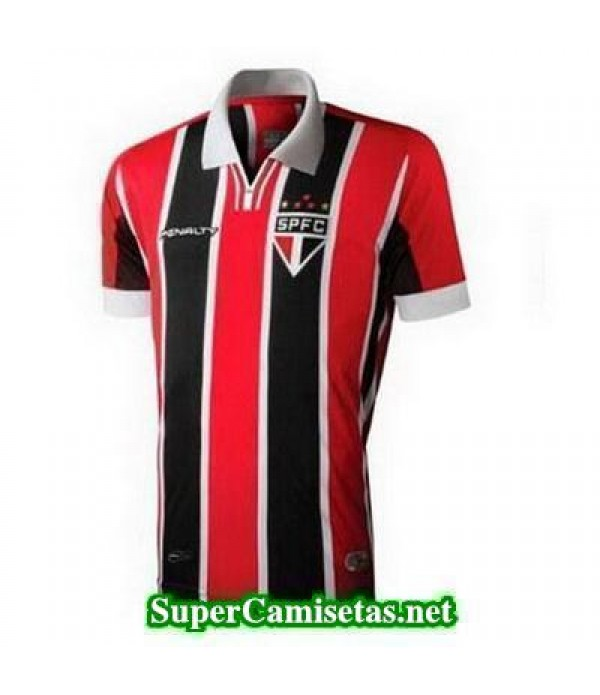 Segunda Equipacion Camiseta Sao Paulo 2015/16