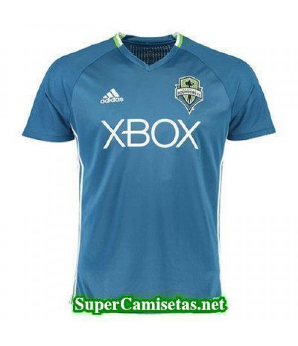 camiseta entrenamiento Seattle Sounders azul 2016/17