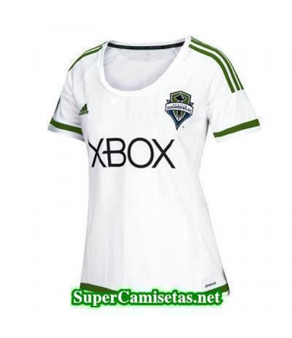 Segunda Equipacion Camiseta Seattle Sounders Mujer 2016/17