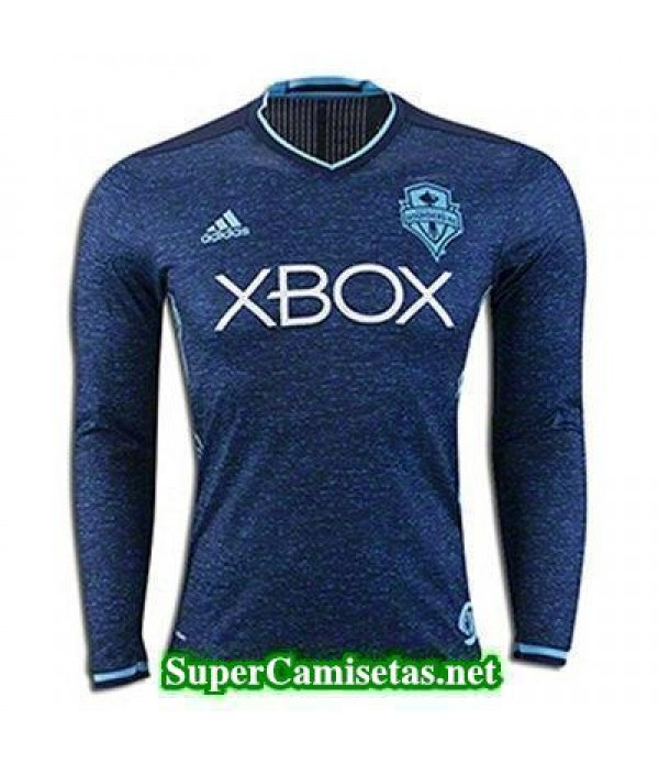 Tercera Equipacion Camiseta Seattle Sounders Manga Larga 2016/17