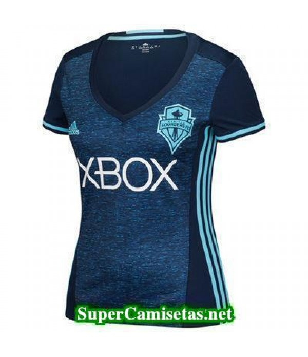 Tercera Equipacion Camiseta Seattle Sounders Mujer 2016/17