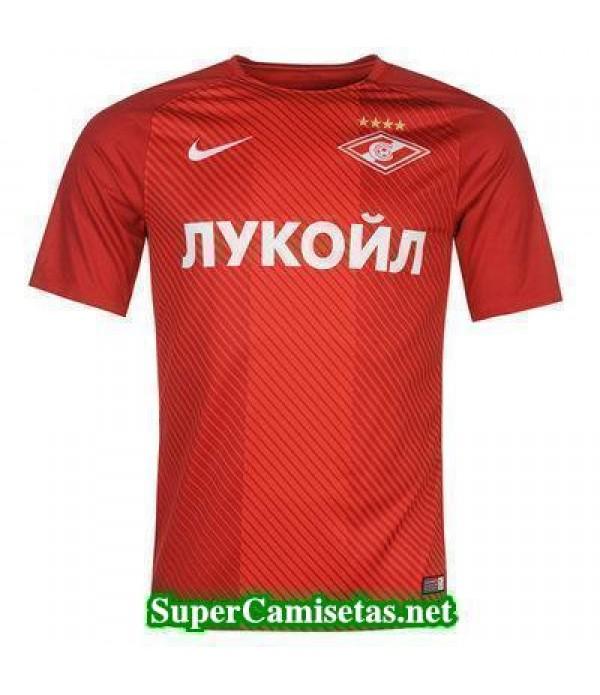 Tailandia Primera Equipacion Camiseta Spartak Moscow 2017/18