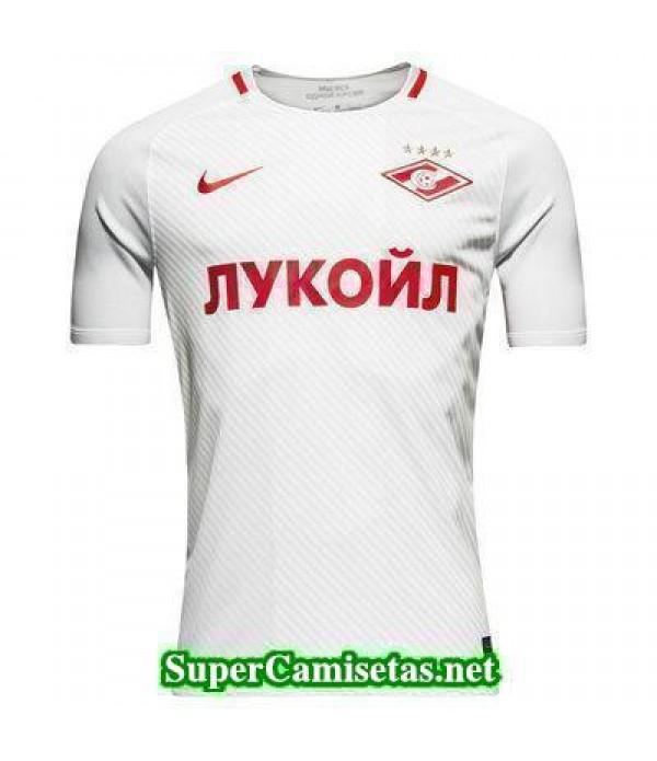 Tailandia Segunda Equipacion Camiseta Spartak Moscow 2017/18
