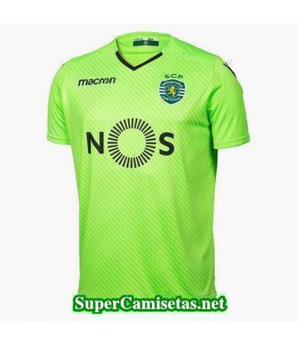 Tailandia Portero Equipacion Camiseta sporting verde 2017/18