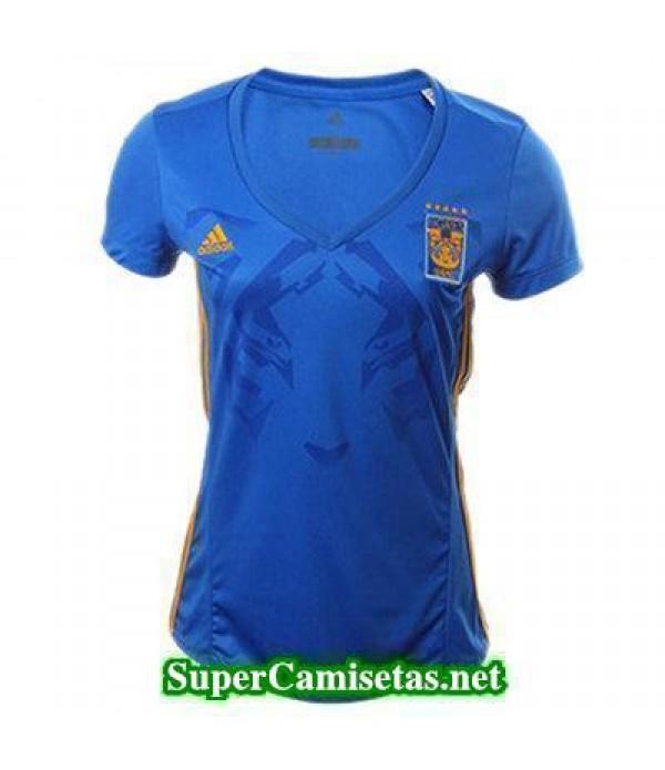Segunda Equipacion Camiseta Tigres UANL Mujer 2017/18