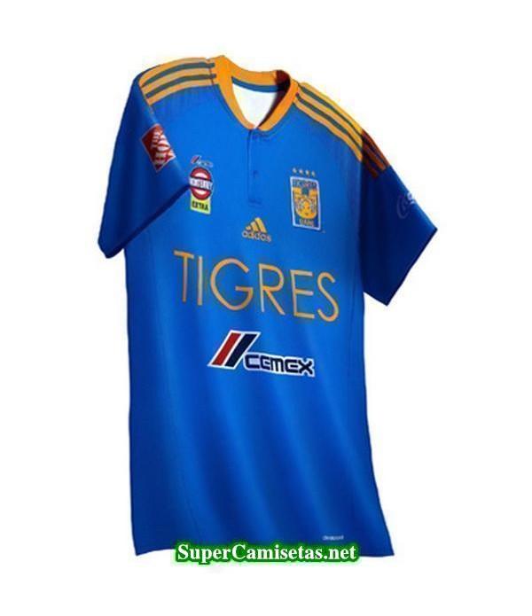 Tailandia Segunda Equipacion Camiseta Tigres UANL 2016/17