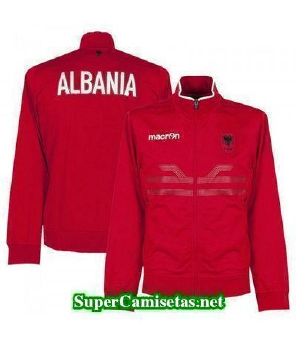Chaquetas Albania rojo 2016 2017 baratas