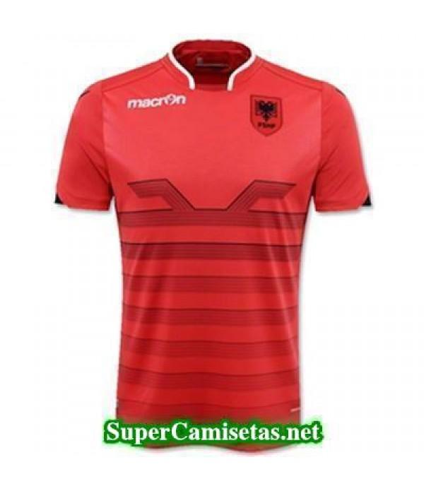 Tailandia Primera Equipacion Camiseta Albania Eurocopa 2016