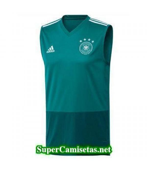 camiseta chaleco Alemania Verde 2018 2019