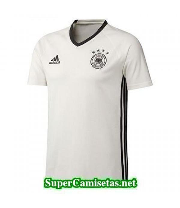 camiseta entrenamiento Alemania Blanco 2016 2017