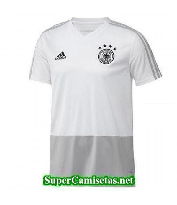 camiseta entrenamiento Alemania Blanco 2018 2019