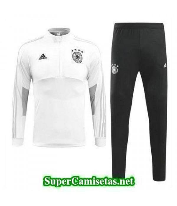 camiseta entrenamiento Alemania ML Blanco-01 2018 2019