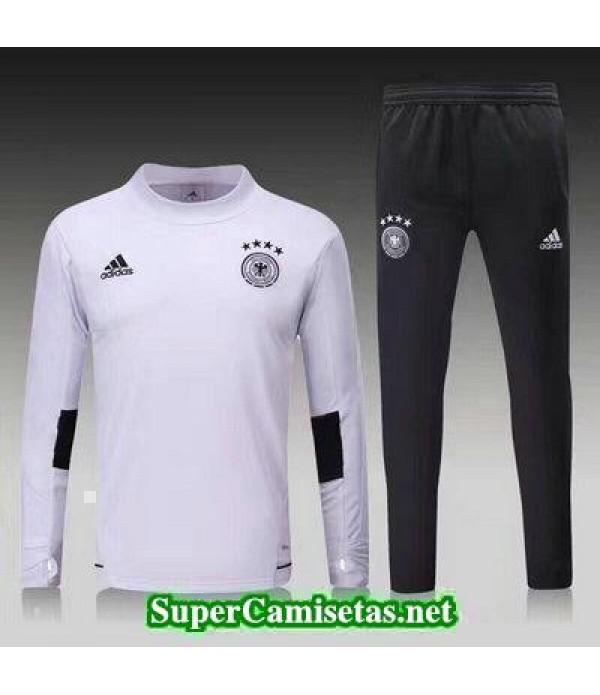 camiseta entrenamiento Alemania ML Blanco 2017 2018