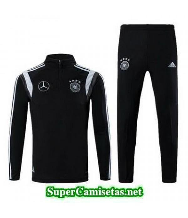 camiseta entrenamiento Alemania ML Negro 2016