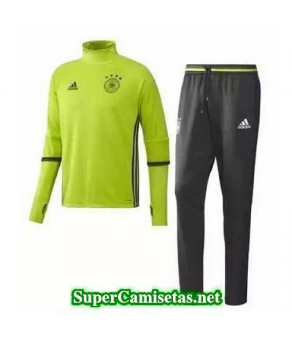 camiseta entrenamiento Alemania ML Verde 2016