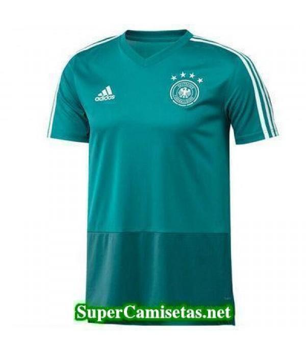 camiseta entrenamiento Alemania Verde-01 2018 2019