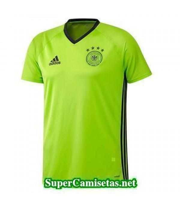 camiseta entrenamiento Alemania Verde 2016 2017