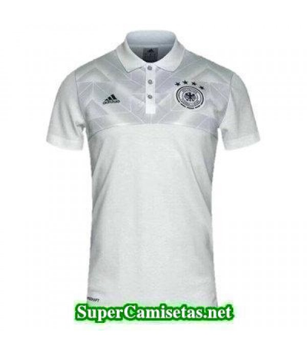 Camiseta polo Alemania blanco-01 2017 2018